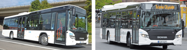 SCANIA CITYWIDE LF UND LE